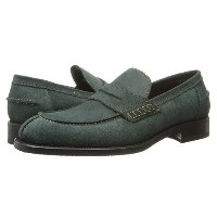 【ポイント2倍!6/22 1:59まで】a. testoni Barbour Suede Loafer w/ Half Rubber Sole