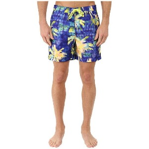 Original Penguin Psychedelic Palms Printed Fixed Volley Swim Shorts ショーツ