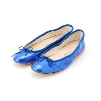 【PORSELLI】 Metalic Ballet shoes