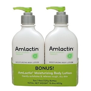 [アメリカ直送]AmLactin Alpha-Hydroxy Therapy Moisturizing Body Lotion for Dry Skin Fragrance-Free White...