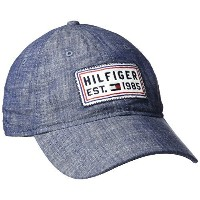 [アメリカ直送] [キャップ] Tommy Hilfiger Men s P.R.Ior Dad Baseball Cap-6939491 (Size:One Size|Color:Chambray)