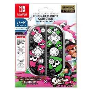 【Nintendo Switch】Joy-Con HARD COVER COLLECTION for Nintendo Switch(splatoon2)Type-B キーズファクトリー [CJH...
