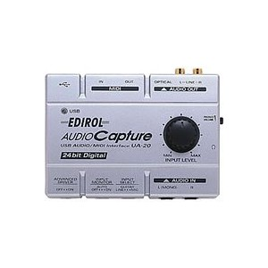 EDIROL USB Audio/MIDI Interface UA-20X