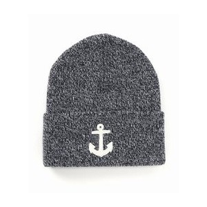 Watch Cap W/Embroidered Felt Anchor【ジャーナルスタンダード/JOURNAL STANDARD ニット帽】