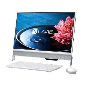 [新品] NEC LAVIE Desk All-in-one DA350/EAW PC-DA350EAW (Win10/4GB/1TB/23.8インチ) [正規版Microsoft office搭載]