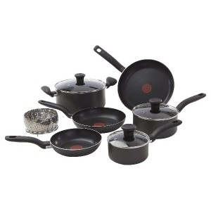 T-Fal A821SA94 10Pc Cookware Grey