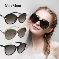 【MAXMARA】 100%正規品/ユニセックス/UVプロテクト Unisex Sunglasses 100% Authentic Free shipping UV EYESYS