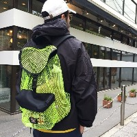 BAGS USA MFG Mesh Backpack made in U.S.A(メッシュバッグ リュック バックパック)