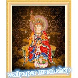 Chinese new year decoration Diamond Painting Cross Stitch Sparkling Crystal Round Diamond Home Deco...