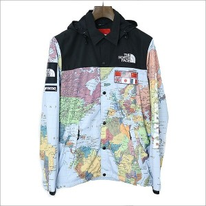 Supreme シュプリーム ×THE NORTH FACE 14SS Expedition Coaches Jacket コーチジャケット ミックス M【中古】