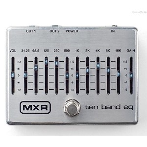 MXR M108S 10 Band Graphic EQ [並行輸入品]