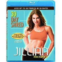 SALE OFF!新品北米版Blu-ray!Jillian Michaels: 30 Day Shred [Blu-ray]!<ジリアン・マイケルズの30日間集中ダイエット>