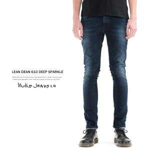 Nudie Jeans ヌーディージーンズ LEAN DEAN リーンディーン 610.DEEP SPARKLE スキニージーンズ 112091 6294