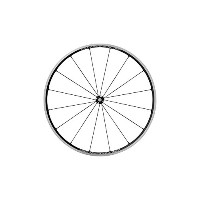 Shimano Cycling Wheel, WH-R9100-C24-Cl フロント 16H, カーボン Laminate Rim(W/Rim Tape) Clincher, Old:100mm...