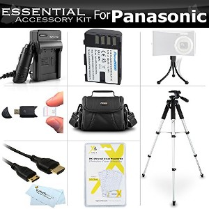 Essential Accessories キット For Panasonic Lumix DMC-GH3K, DMC-GH3, DMC-GH4, DMC-GH4KBODY Mirrorless...