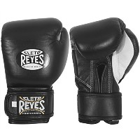 Cleto Reyes Youth Hook and Loop Boxing グローブ - ブラック (海外取寄せ品)