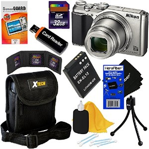 Nikon COOLPIX A900 デジタル Camera with 4K ビデオ, 35x Zoom, Wi-Fi and NFC (Silver) - International...