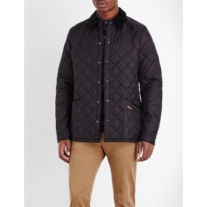 バーブァー barbour メンズ アウター ジャケット【liddlesdale quilted shell jacket】Black