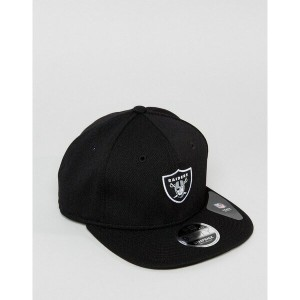 ニューエラ メンズ 帽子 アクセサリー New Era 9Fifty Snapback Cap Oakland Raiders Black