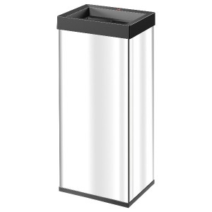 Hailo Big-Box Quick ®60 Square waste boxes Stainless steel ビッグボックススイング60 スクエア ステンレス
