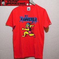 PUNK DRUNKERS パンクドランカーズ TシャツRUNNERS.HI.TEE'2013F.RED