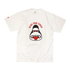 AMOS TOYS KISS THE CHEF TEE エイモス Tシャツ