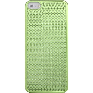 PLATA iPhone SE / 5s / 5 専用 フワラー デザイン アルミ ケース 【 グリーン 】 for iPhone SE / 5s / 5 case IP5-5016GN