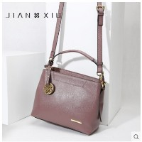 Jane handsome leather handbags first layer of leather shoulder bag European and American fashion han