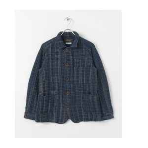 UR FREEMANS SPORTING CLUB JP INDIGO KASURI COVERALL【アーバンリサーチ/URBAN RESEARCH その他(ジャケット・スーツ)】