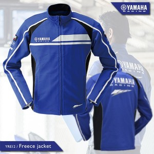 YAMAHA/Y's GEAR YRE12 Freece jacket フリースジャケット YAMAHA Racing Blue ヤマハ/ワイズギア