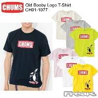 CHUMS チャムス CH01-1077 Old Booby Logo T-Shirt   オールドブービーロゴTシャツ ※取り寄せ品