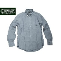 GITMAN VINTAGE(ギットマンヴィンテージ)/L/S REGULAR FIT B.D. CHAMBRAY SHIRTS/blue