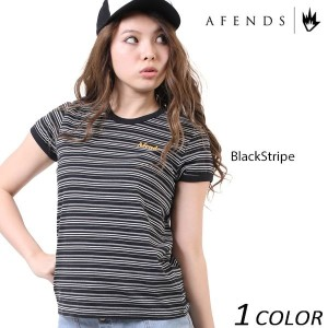 SALE セール 20%OFF 【数量限定】レディース 半袖 Tシャツ AFENDS アフェンズ Pepper-Standard Fit Ringer Tee 50-09-025 EE1 C16