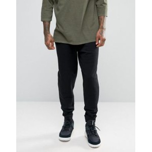 ASOS エイソス Standard Fit Joggers In Black