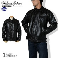 """Buzz Rickson's(バズリクソンズ) """"WILLIAM GIBSON COLLECTION"""" TYPE BLACK A-2 DECK HORSE HIDE デッキ ホースハイド..."""