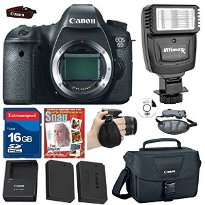 Canon EOS 6D DSLR Body (No Lens) +Extra ハイ Capacity バッテリー +16g コマンダー ハイ スピード Memory Card +Canon...