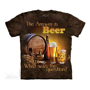 The Mountain Tシャツ Mountain Life Beer Outdoor (Mountain Life メンズ 男性用 男女兼用) S-L【輸入品】半袖