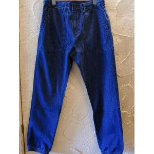 GRN/JOGGER DENIM PANTS INDIGO