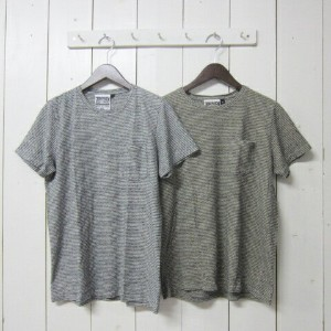jungmaven ユングメイブン [hemp tee][ss][yd][pocket][stripe][fine][2c]