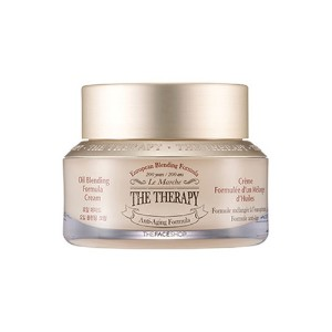 [THE FACE SHOP] The Therapy Oil Blending Formula Cream - 50ml