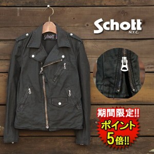 【Schott】 SCH BACK SATIN W RIDER'S (3172000) Men`s □ 05P03Dec16