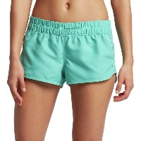 ハーレー レディース ボトムのみ スイムウェア Hurley Supersuede Solid Beachrider Board Short - Women's Washed Teal