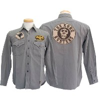 "TOYS McCOY トイズマッコイ ロングスリーブ・長袖シャツ MILITARY CHINO WORK SHIRT""THE KONG BUSTERS"" 【smtb-k】【kb】"