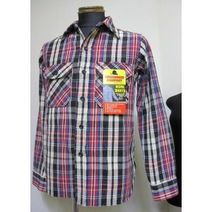 ウェアハウス(WAREHOUSE)Lot 3095 FLANNEL SHIRTS B柄 ONE WASH【送料無料】