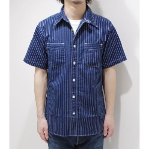 SUGAR CANE FICTION ROMANCE OLD WORK STYLEを演出するウォバッシュワークシャツ『8.5oz. WABASH STRIPE WORK SHIRT』【アメカジ...