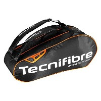 TECNIFIBRE ABSOLUTE SQUASH ORANGE 6R ラケットバッグ