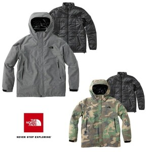 THE NORTH FACE Novelty Cassius Triclimate Jacket NP61643 ノベルティ カシウストリクライメートジャケット(メンズ) ノースフェイス