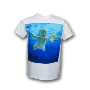Nirvana Tシャツ ニルヴァーナ Nevermind with Track Titles S