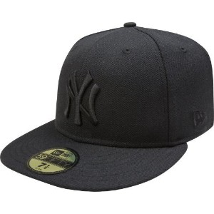キャップ ニューヨーク・ヤンキース / MLB New York Yankees Black on Black 59FIFTY Fitted Cap 7 1/4