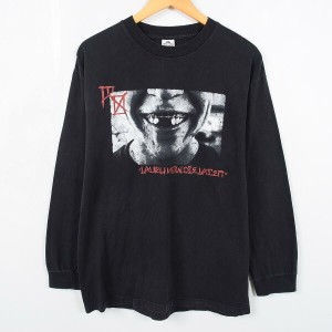 ROTTING OUT Laugh Now Die Later ロングTシャツ ロンT メンズL ALSTYLE /wac2978 【中古】 【170324】